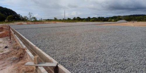 ALTO ALEGRE - Governo constrói campo de futebol society em comunidade indígena